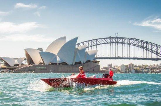 Sydney Harbour Tag-Along Motor Boat...