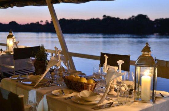 Crucero con cena por el río Zambezi