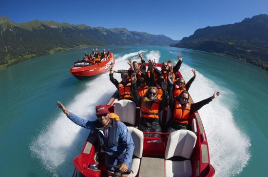 Jetboat Scenic Ride in Interlaken