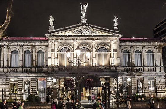 Entrée du Teatro Nacional de Costa...