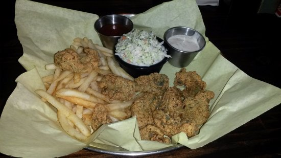 Stafford, Τέξας: Fried Oyster Mea