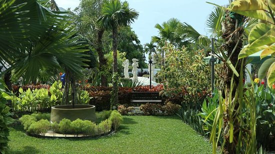 Just Beautiful - Picture of My Garden Resto, Cafe & Bar, Batam ...