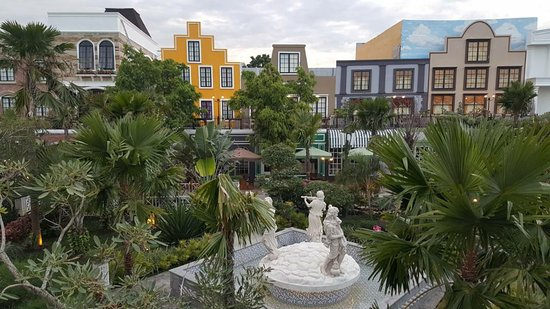 Top View Picture Of My Garden Resto Cafe Bar Batam Center Tripadvisor
