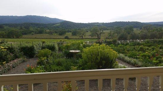 Glen Ellen, Kalifornien: View from the porch swing