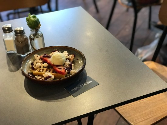 Albury, Australië: Now introducing Husk Made waffles, an addition to the new menu