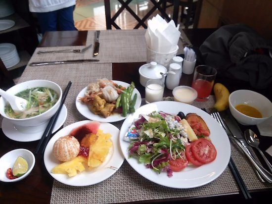 May de Ville Old Quarter Hotel : 選択肢が多い朝食