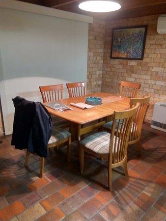Croydon, Australia: Dining area