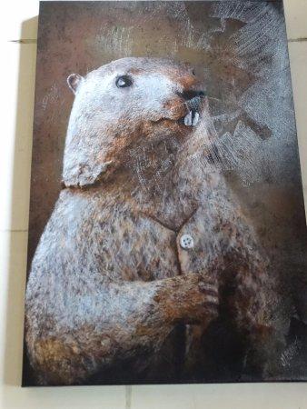 Ancy-le-Franc, Франция: des tableau parfait peint par une artiste incroyable