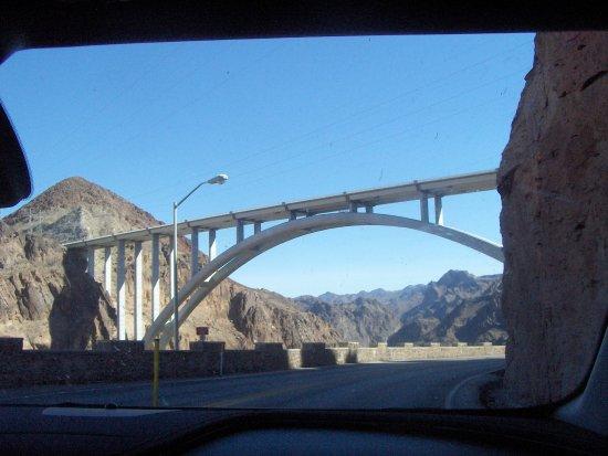 Mike O'Callaghan-Pat Tillman Memorial Bridge: The bridge