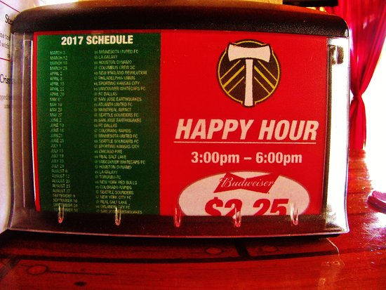 Gresham, OR: Happy Hour and Timbers Schedule