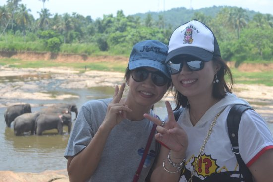 Kegalle, Sri Lanka: chinese guests