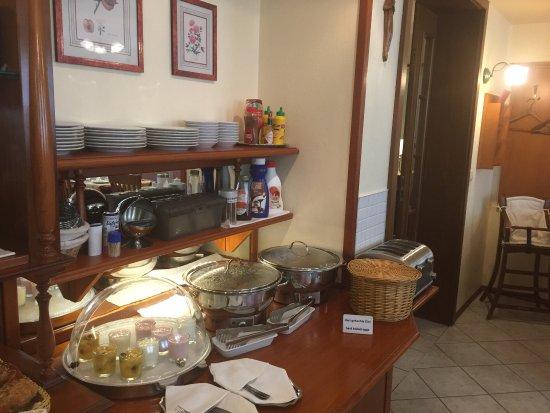 Weiden, Alemania: Interiér breakfast room