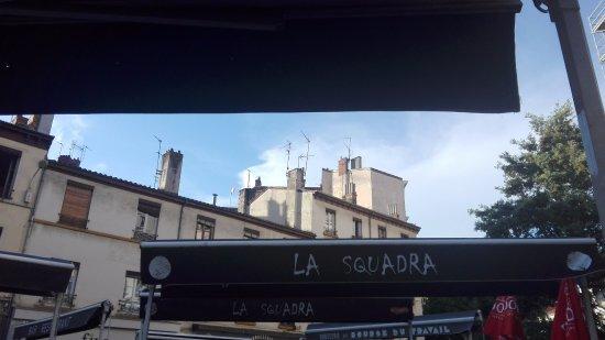 La Squadra: Terrasse