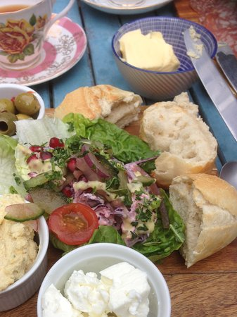 Narberth, UK: My choice was vegetarian my husband had the same but meat option absolutely delicious and presen