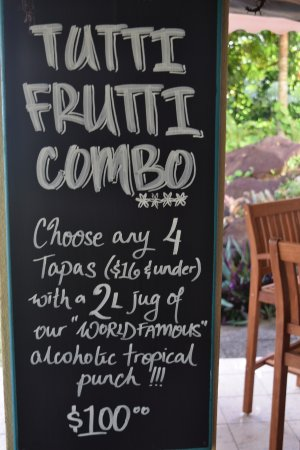 Tuoro Restaurant & Cafe: The Famous Tutti Frutti Combo,Flavours in every mouthful