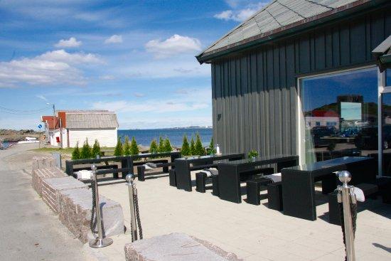 Коммуна Сола, Норвегия: Uteservering med sjøutsikt