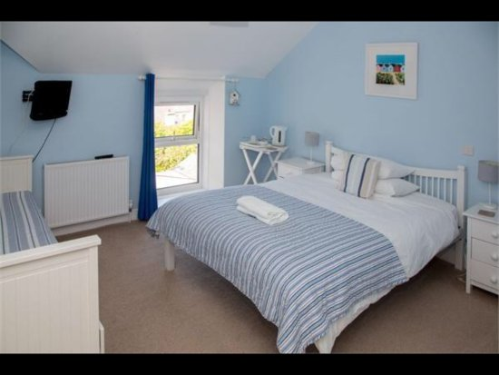 Rhosneigr, UK: Beach hut room