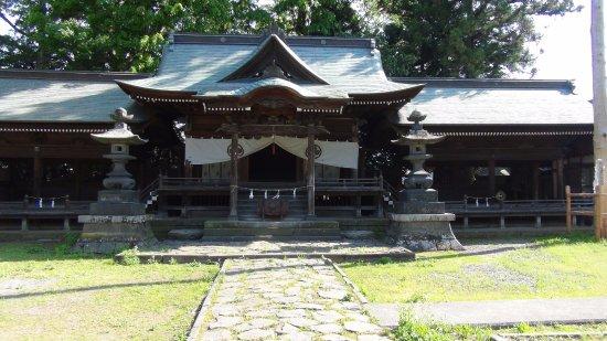 Takashima Castle: 古い神社もありました