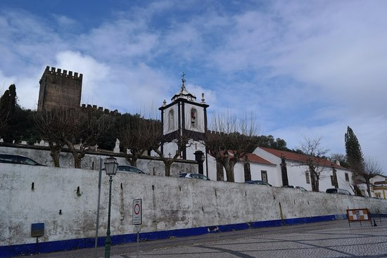 Obidos Village: From the parking lot