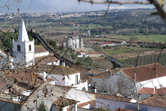 Obidos Village: From the top of the wall