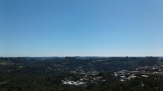 Veranopolis, RS: Vista da serra gaúcha