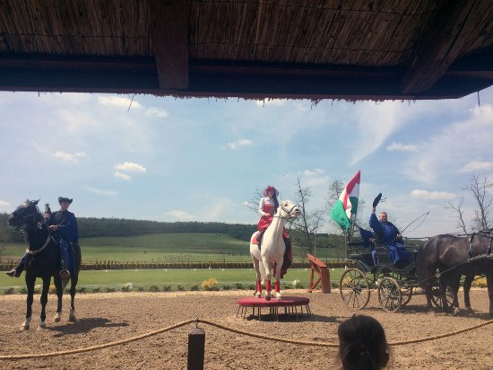 Tahitotfalu, Hungary: Horse show