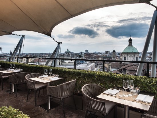 Rooftop - Picture of La Terrazza dei Cavalieri, Milan - TripAdvisor