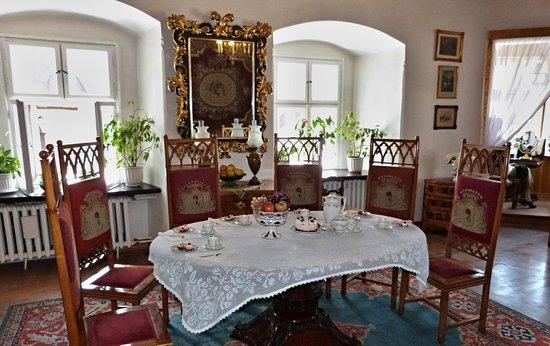 Niedzica, Poland: Interiér hradu Dunajec. 1