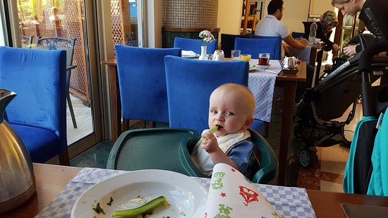 Liberty Hotels Lara : High Chairs provided and Friendly staff