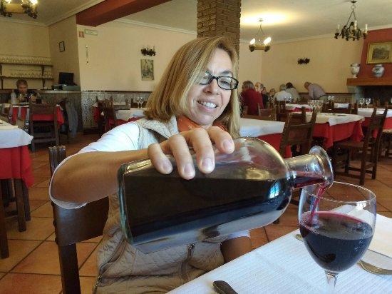 San Martin del Pimpollar, إسبانيا: Comedor