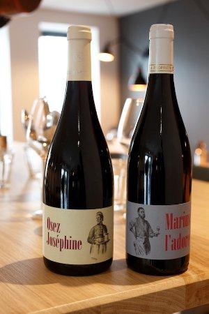 Saint-Amour-Bellevue, Francia: Les vins de Joséphine - Chez Joséphine à table - cuisine de famille