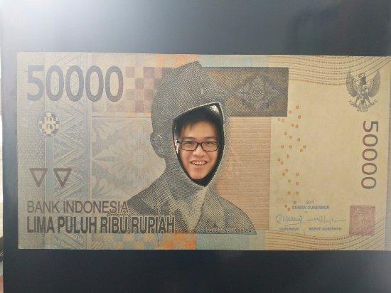 Museum Bank Indonesia : 50rb rupiah