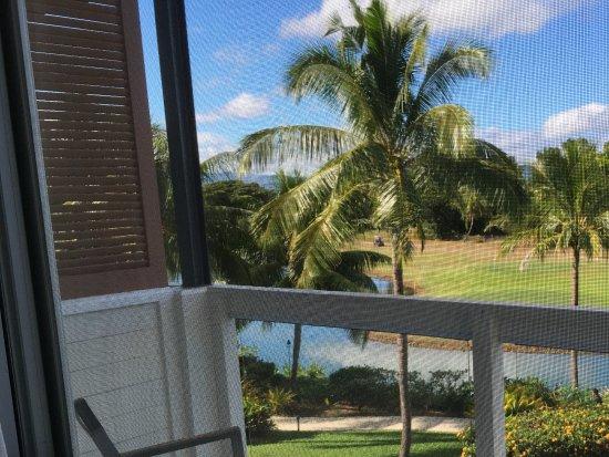The Terraces Apartments : Balcony off main Bedroom