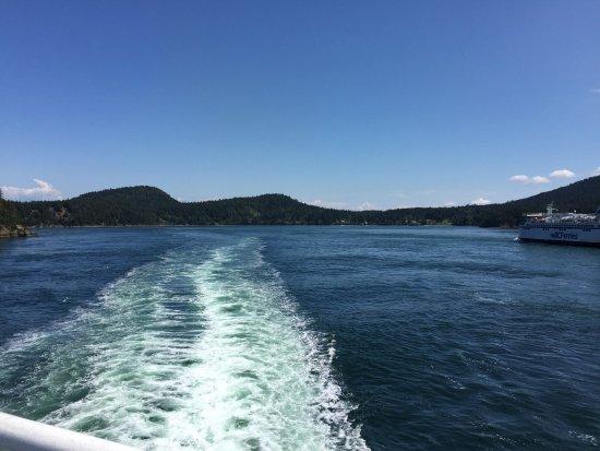 Sidney, Canadá: デッキから様子
