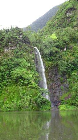 Arue, French Polynesia: cascade