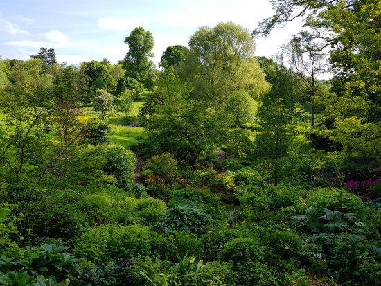 The Slaughters, UK: Main house and gardens. May 2017.