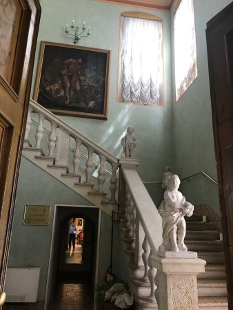 Pescantina, Italy: Ristorante Borgio Antico in der Villa Quaranta