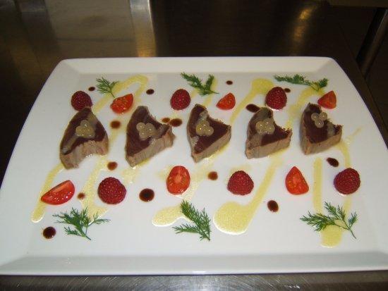La Taverne de Maitre Kanter: Tataki de Thon au Yuzu