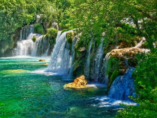 Sibenik-Knin County, Croatia: Krka Falls (Croatia)