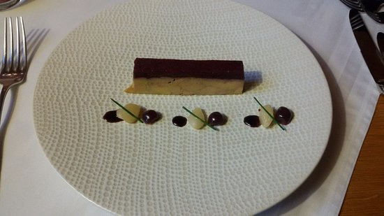 Kientzheim, Prancis: Entrée foie gras