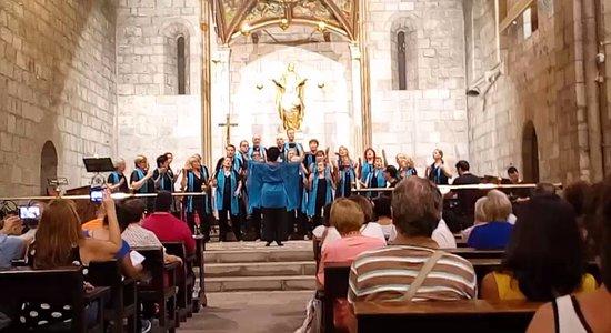 Santa Anna Church : CONCERTO GOSPEL S ANNA A BARCELONA