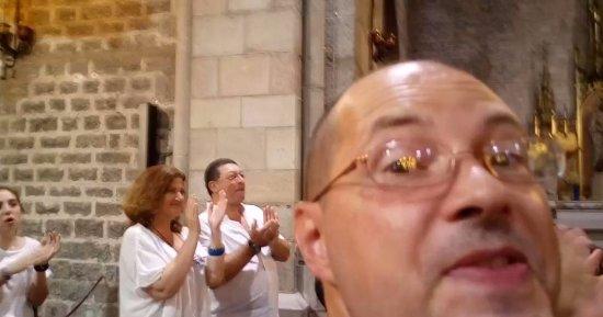 Santa Anna Church : MAX DI WIKITALIA.NET A S.ANNA BARCELONA DURANTE IL CONCERTO