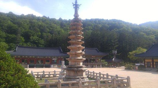 Pyeongchang-gun, Νότια Κορέα: temple3