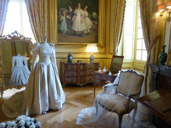 Cheverny, Frankrike: interior