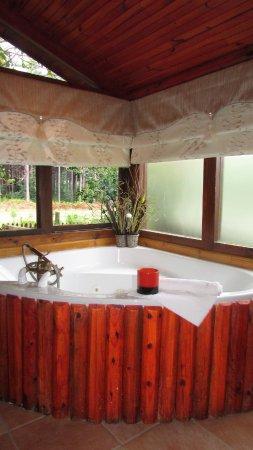 Tsitsikamma Lodge: Jacuzzi in each room