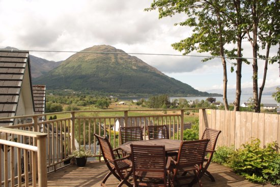 North Ballachulish, UK: Seating area for both studios