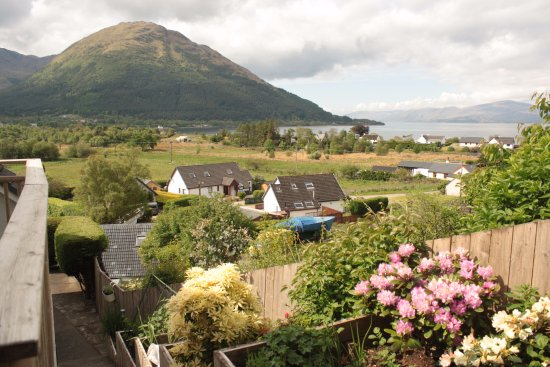 North Ballachulish, UK: View from studio 2's seating area