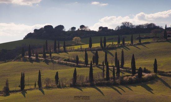 La Foce, Italia: maginifico sitio con un paisaje espectacular
