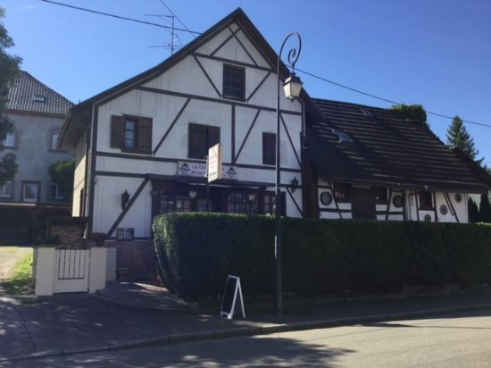Blotzheim, Frankrike: restaurant la crémaillère