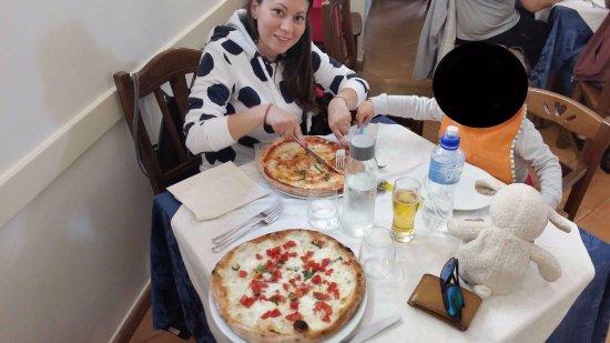 Vittoria: Pizze!
